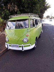 1974 VW T1 split window bus never restored