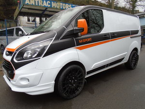 63 2014 FORD TRANSIT CUSTOM L1 H1