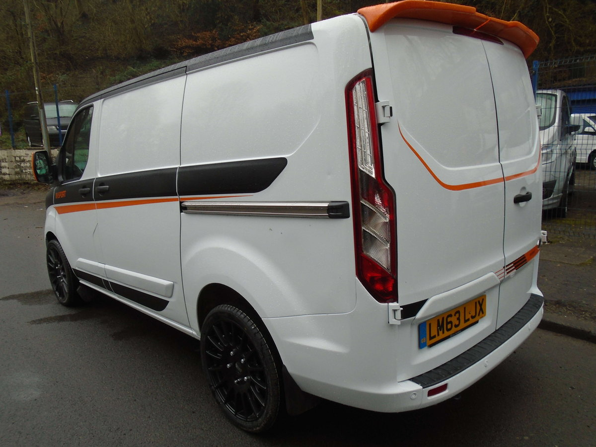 63 2014 FORD TRANSIT CUSTOM L1 H1 For Sale (picture 4 of 6)