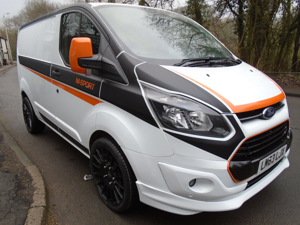 63 2014 FORD TRANSIT CUSTOM L1 H1 For Sale (picture 5 of 6)