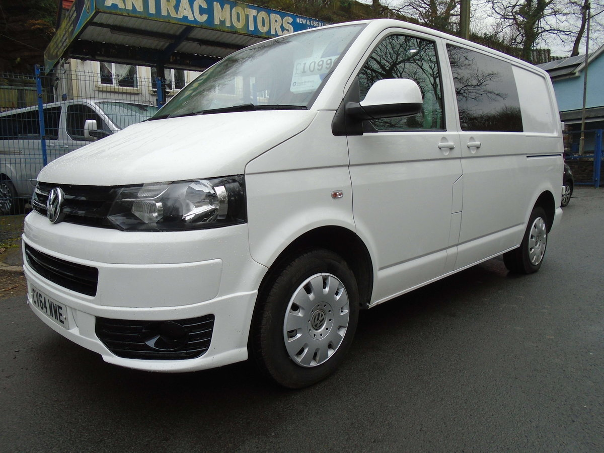 2014 TRANSPORTER 2.0 TDI (102) KOMBI 6 SEATS For Sale (picture 1 of 6)