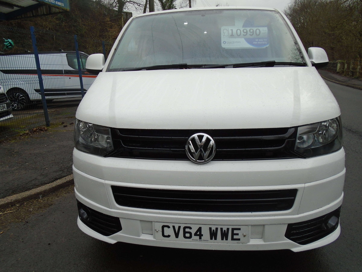 2014 TRANSPORTER 2.0 TDI (102) KOMBI 6 SEATS For Sale (picture 2 of 6)