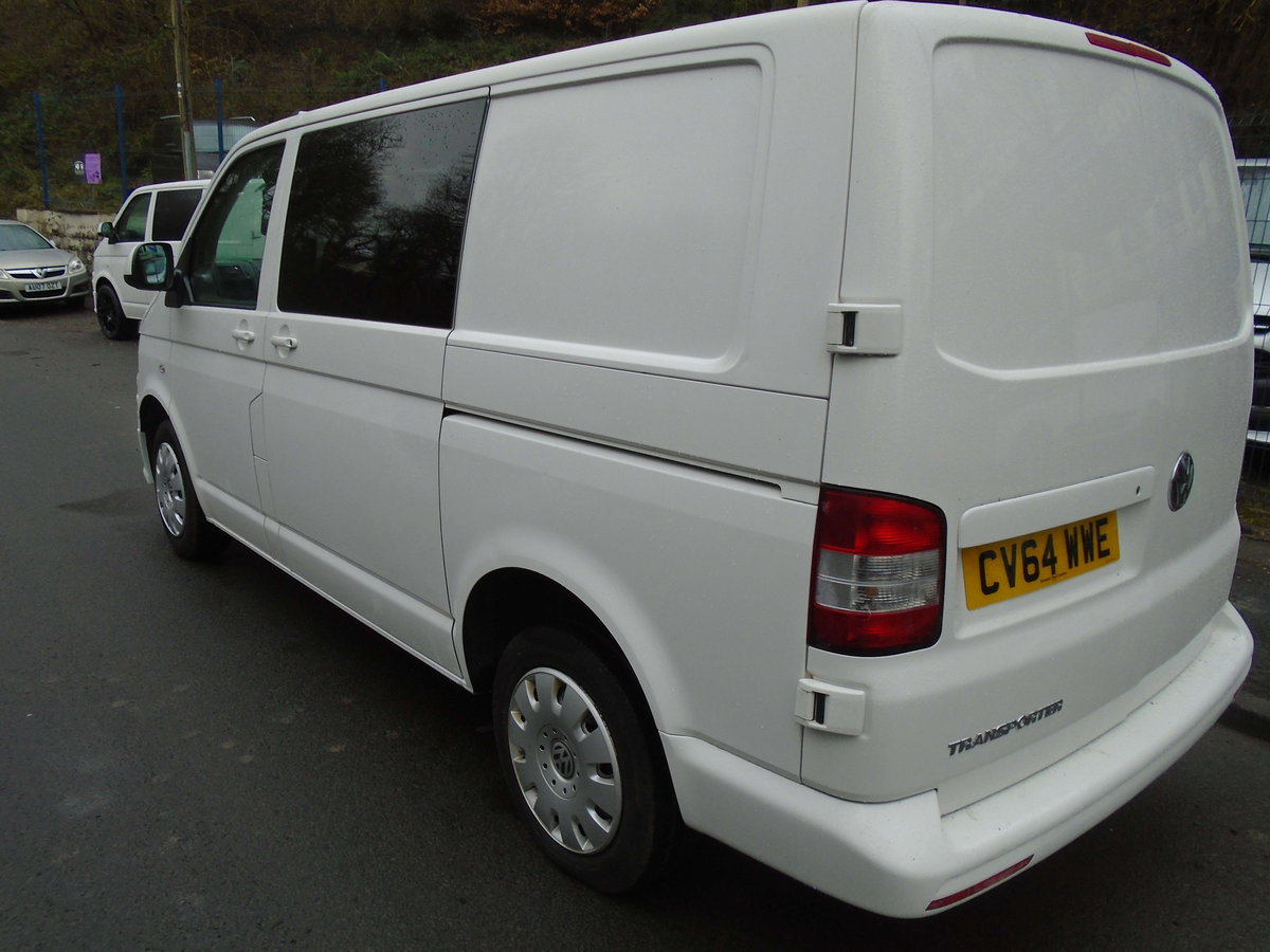 2014 TRANSPORTER 2.0 TDI (102) KOMBI 6 SEATS For Sale (picture 3 of 6)