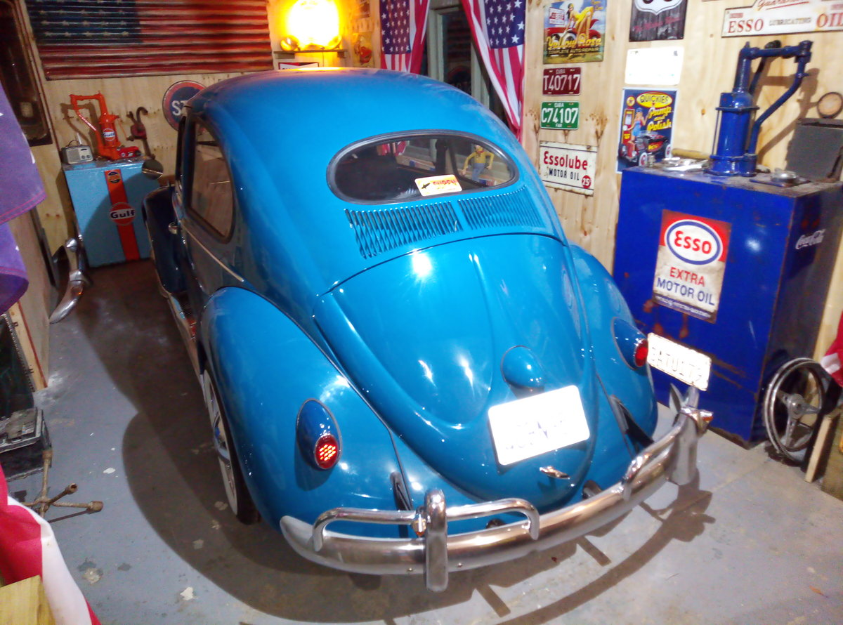 1969 VW BEETLE  CAL-LOOK WITH OVAL REAR WINDOW  For Sale (picture 2 of 6)