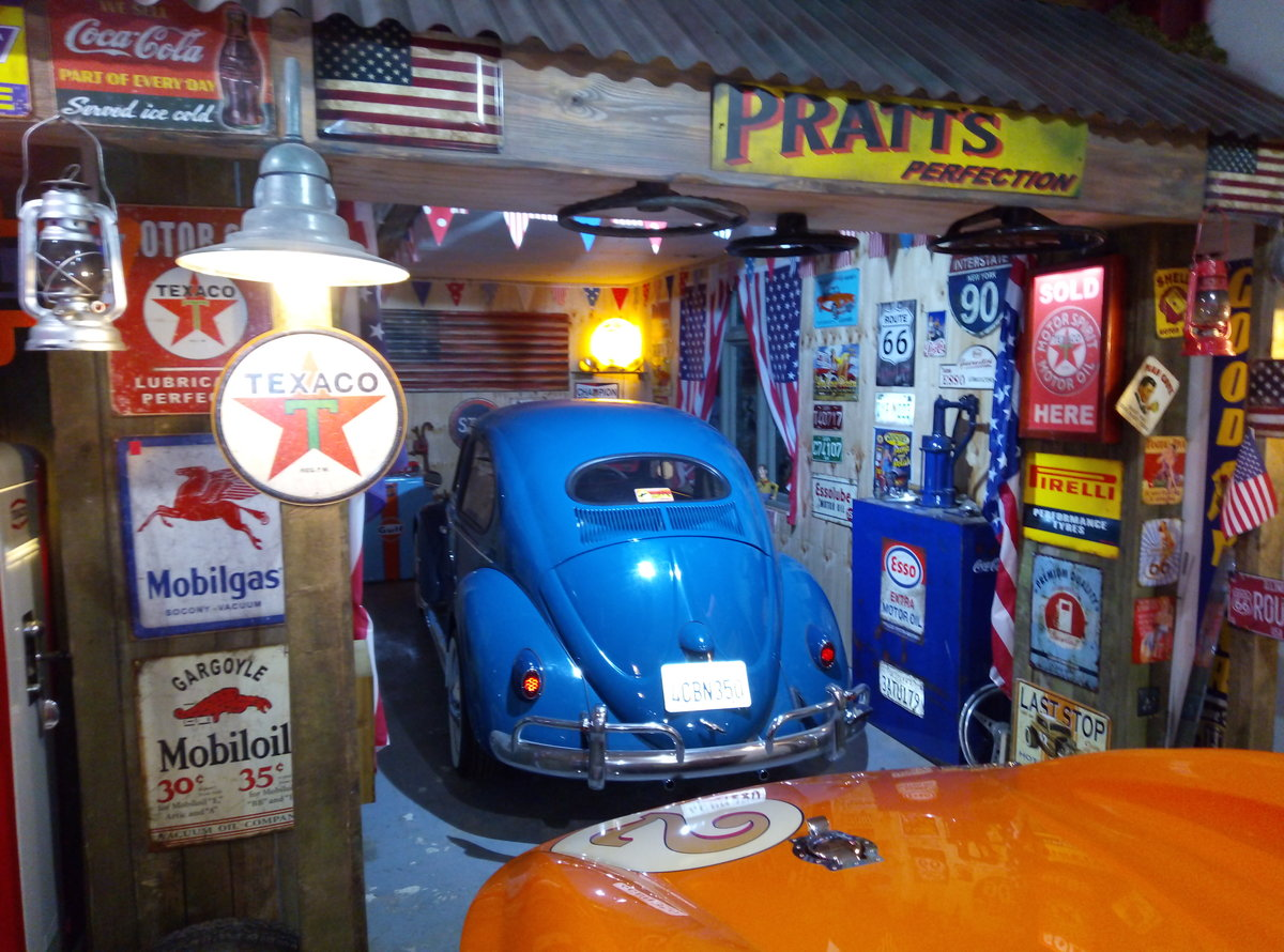1969 VW BEETLE  CAL-LOOK WITH OVAL REAR WINDOW  For Sale (picture 6 of 6)