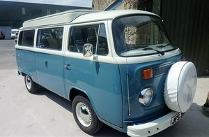 1975 VW Volkswagen T2 Bay Window Devon Camper van SOLD For Sale