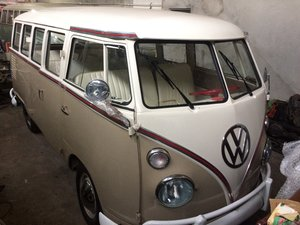 Vw bus t1 deluxe (204) 1968 restored aaa