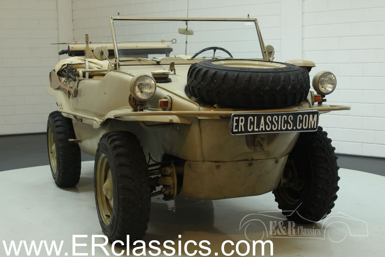 Volkswagen Schwimmwagen 1942 very early example For Sale (picture 1 of 6)