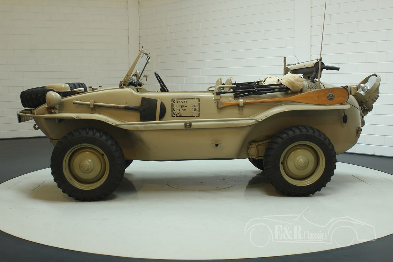 Volkswagen Schwimmwagen 1942 very early example For Sale (picture 5 of 6)