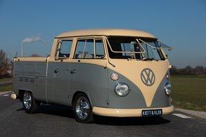 1967 Volkswagen T1 Crewcab, Doka, Dubbelcabine SOLD