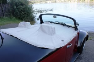 1967 Volkswagen Beetle Chop Top =Custom fresh engine $14.9k For Sale (picture 3 of 6)