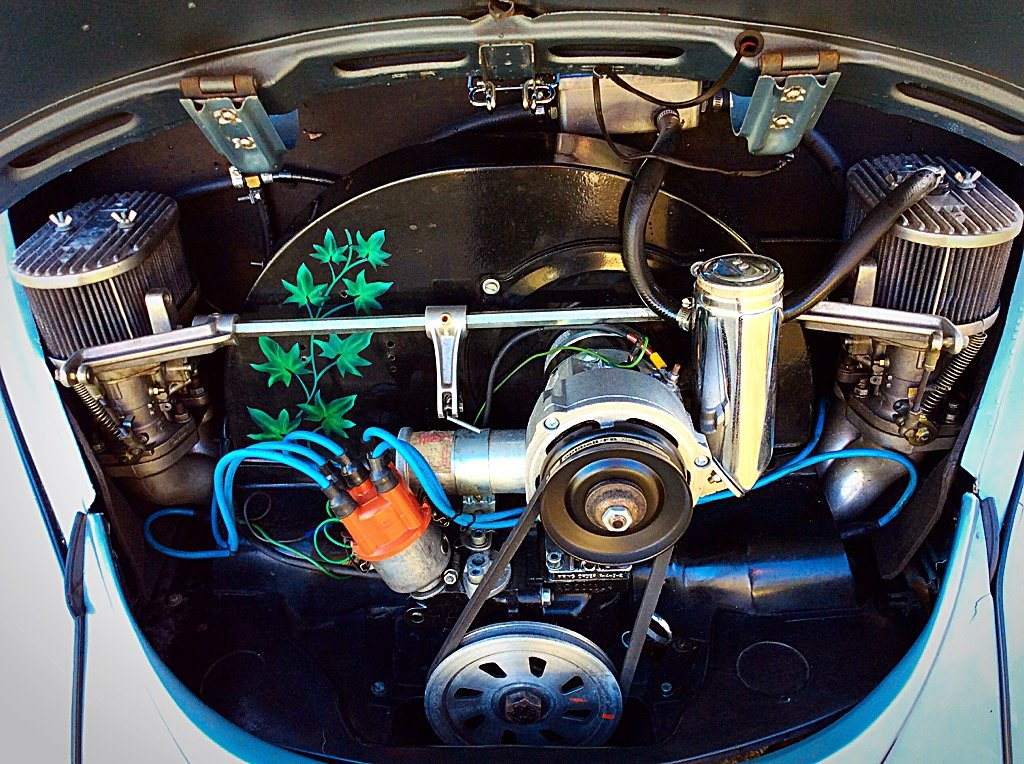 1968 VW BEETLE -1776cc STUNNING CUSTOM RESTORATION PX? For Sale (picture 5 of 6)