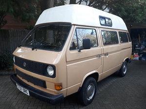 VW Transporter T25 high-top 1986 1.9 petrol camper For Sale