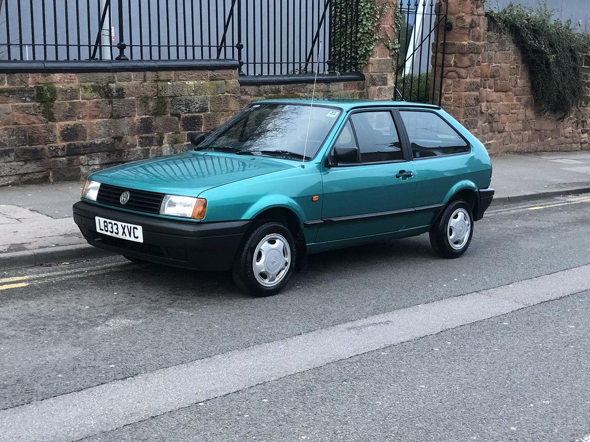 1993 Volkswagen Polo Boulevard Coupe, One Owner from New, FSH! For Sale (picture 1 of 6)