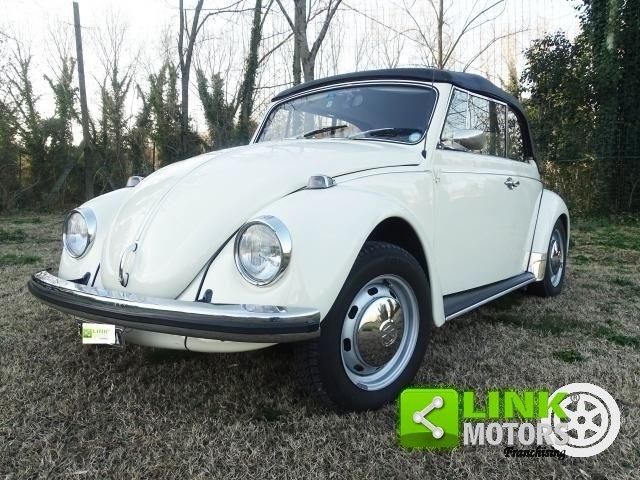 Volkswagen Maggiolino del 1970 vetro piatto TARGA ORO For Sale (picture 1 of 6)