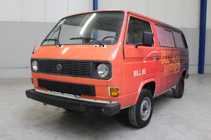 VOLKSWAGEN T3, 1984 For Sale by Auction