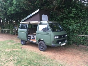 1983 VW T3 Syncro Transporter 4x4 Campervan LHD For Sale