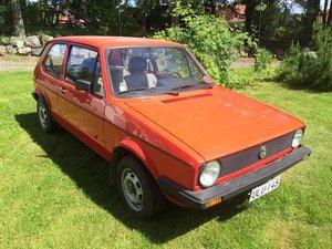 1979 Volkswagen Golf 1.3 S For Sale