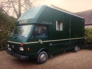 1990 VW LT50 Lambourn Racemaster Horsebox For Sale