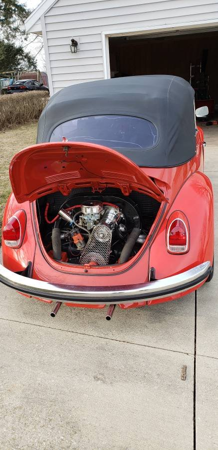 1968 Volkswagen Beetle (Marion, OH) $24,900 obo For Sale (picture 5 of 6)