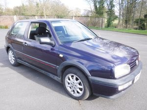 **MARCH AUCTION**1995 Volkswagen Golf GTi For Sale by Auction