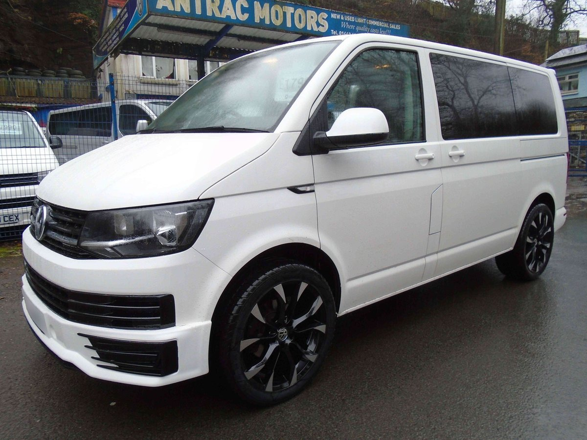 2015 /65 VW TRANSPORTER T6 SHUTTLE SWB 8 SEATER T32 102 TDI  For Sale (picture 1 of 6)