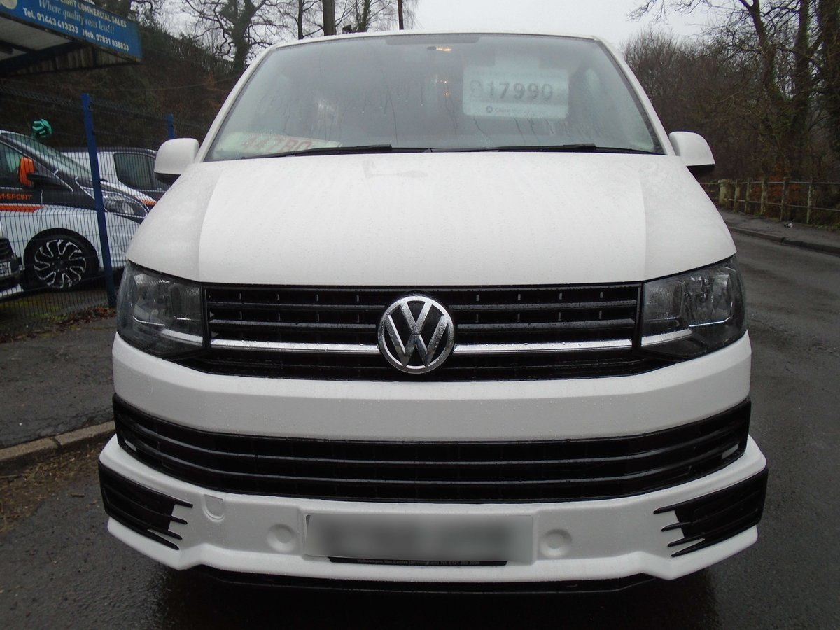 2015 /65 VW TRANSPORTER T6 SHUTTLE SWB 8 SEATER T32 102 TDI  For Sale (picture 2 of 6)