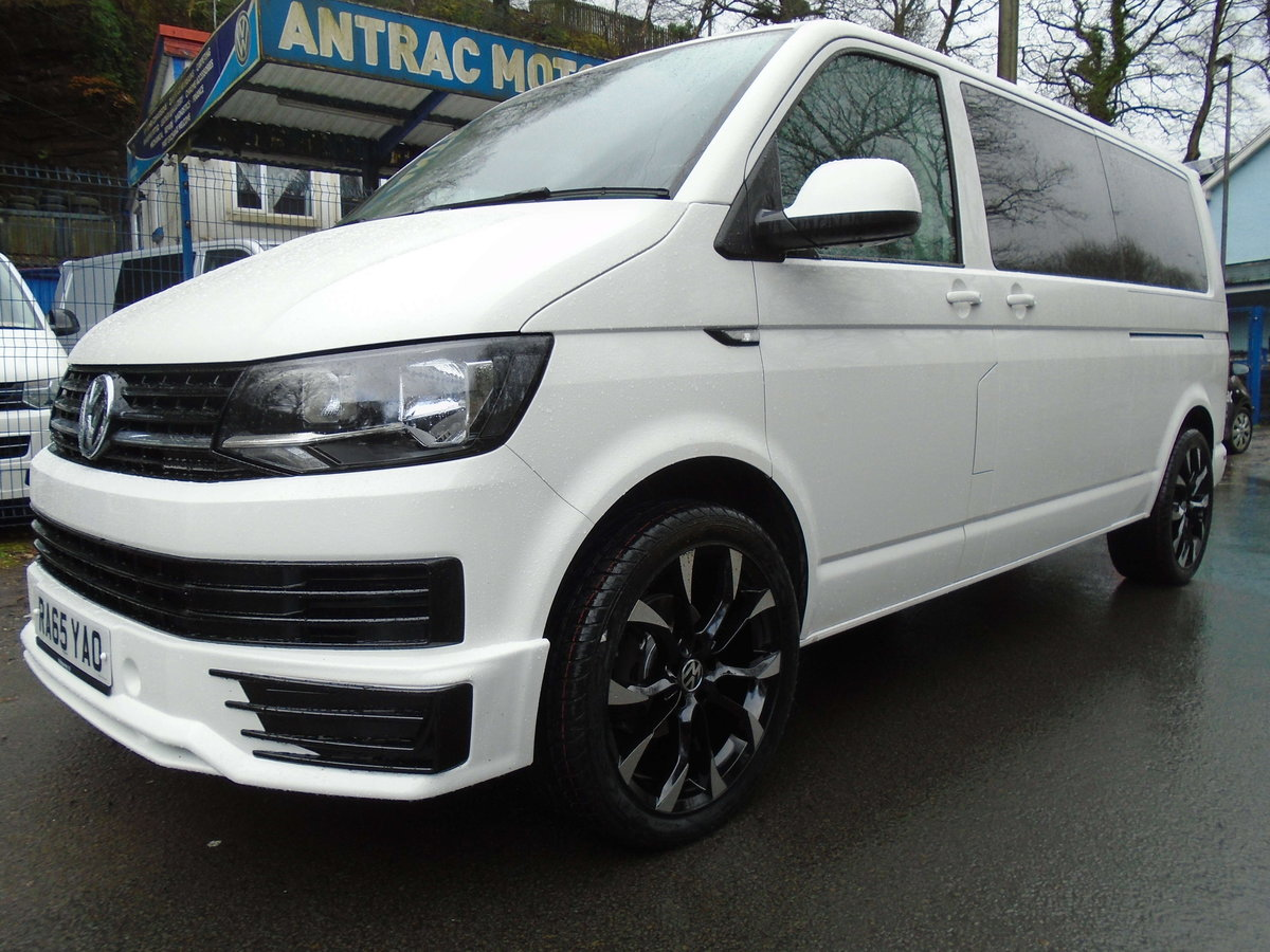 2016 65 Volkswagen Transporter Shuttle 2.0TDI ( 102PS ) LWB  For Sale (picture 1 of 6)