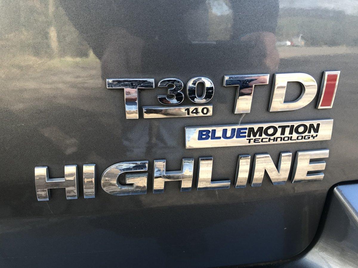 2014 VW Transporter T30 Highline Blue Motion TDi LWB For Sale (picture 5 of 6)