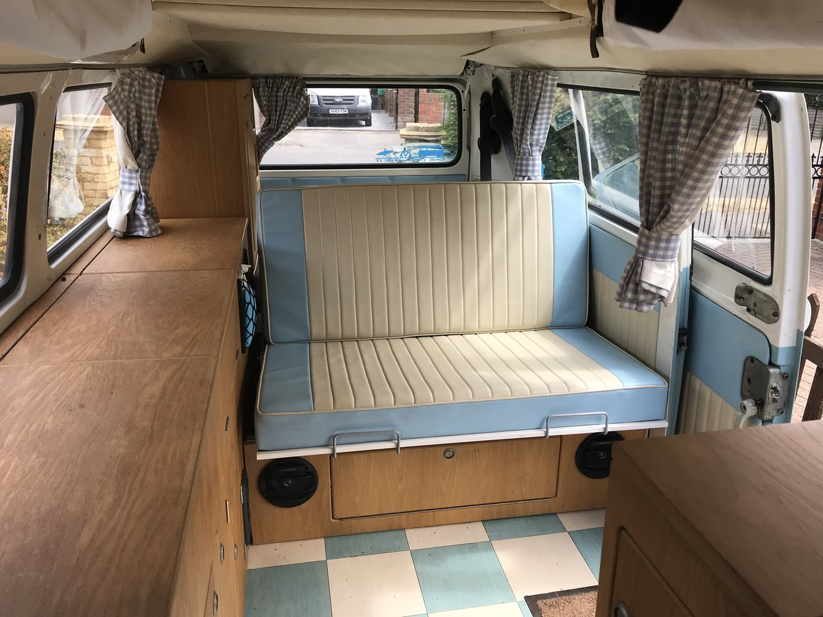 1974 RHD VW Campervan baywindow For Sale (picture 5 of 6)