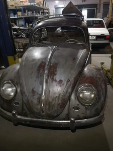 1956 Unrestored Oval Window Beetle