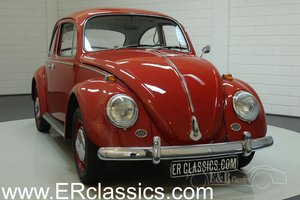 Volkswagen Beetle 1966 Ruby Red in very nice condition