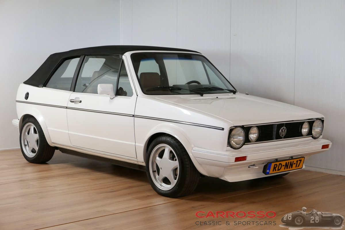 1984 Volkswagen Golf I GLI Cabriolet in very nice condition For Sale (picture 1 of 6)