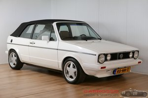 1984 Volkswagen Golf I GLI Cabriolet in very nice condition For Sale