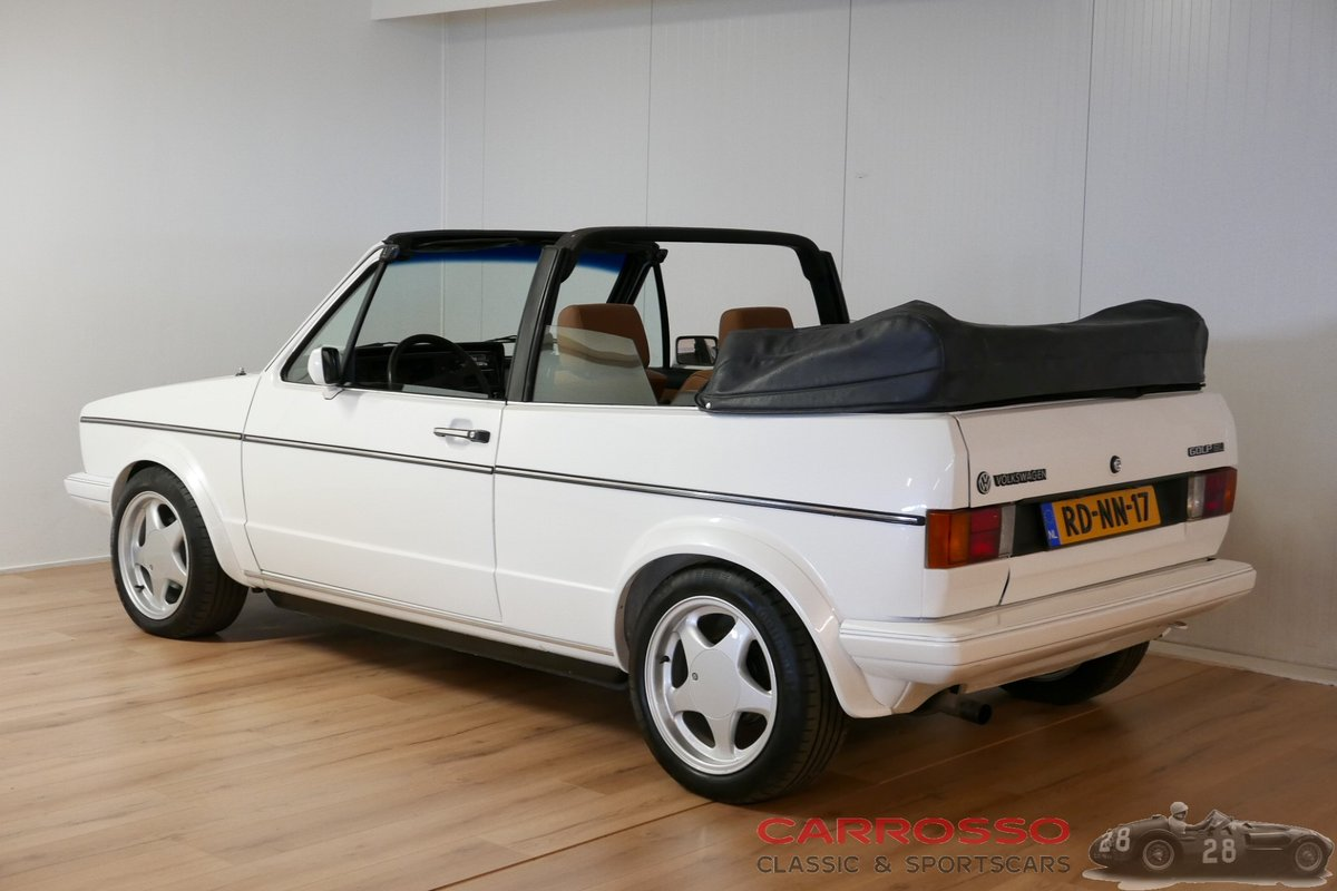 1984 Volkswagen Golf I GLI Cabriolet in very nice condition For Sale (picture 2 of 6)