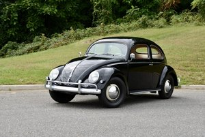 1956 Volkswagen Oval(~)Window Beetle = Full Restored $25.9k
