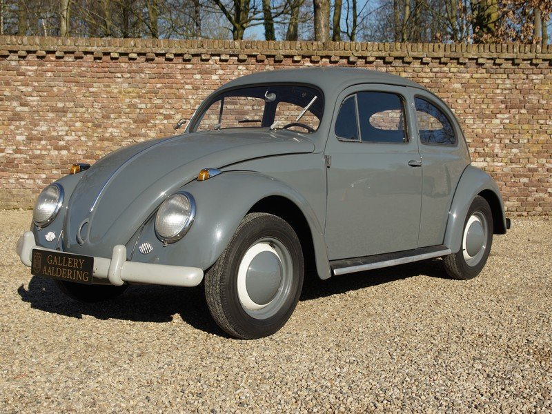 1955 Volkswagen Beetle Oval 1200 matching numbers, full known his For Sale (picture 1 of 6)