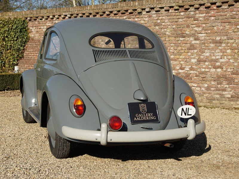 1955 Volkswagen Beetle Oval 1200 matching numbers, full known his For Sale (picture 6 of 6)