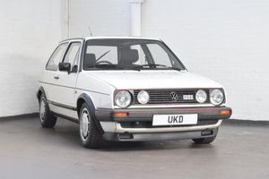 VW VOLKSWAGEN GOLF MK2 GTI 1.8 3DR WHITE 1985