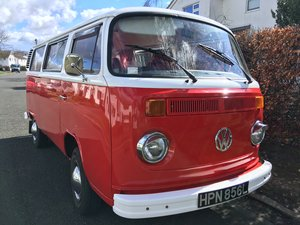 1973 VW Type 2 Bay Window Campervan £10,000 - £12,000 For Sale by Auction
