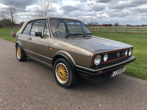 1986 VW Golf 1.8 GTi Cabriolet MKI at ACA 13th April  For Sale