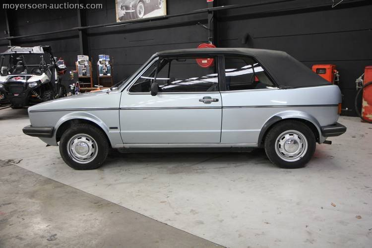 1981 VOLKSWAGEN Golf 1 Cabrio For Sale by Auction (picture 2 of 5)
