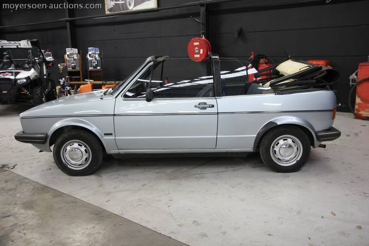 1981 VOLKSWAGEN Golf 1 Cabrio For Sale by Auction (picture 3 of 5)
