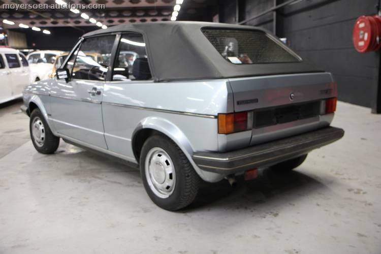 1981 VOLKSWAGEN Golf 1 Cabrio For Sale by Auction (picture 4 of 5)