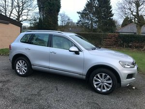 2012 VW TOUAREG 3.0 V6 TDI SE SILVER/CREAM JUST 20K STUNNING SOLD