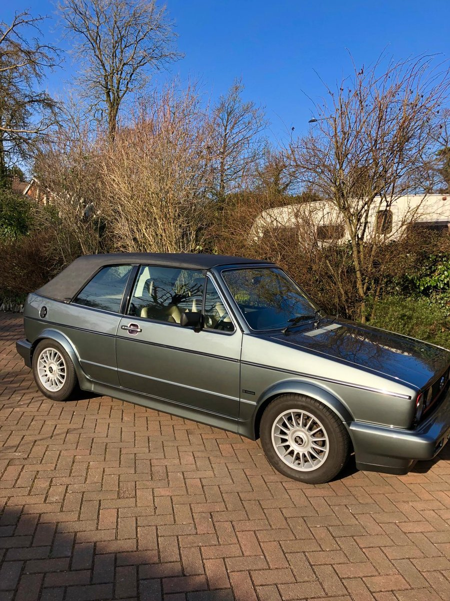 1983 Reluctant sale of classic Golf gti For Sale (picture 1 of 6)