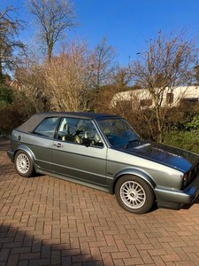 1983 Reluctant sale of classic Golf gti