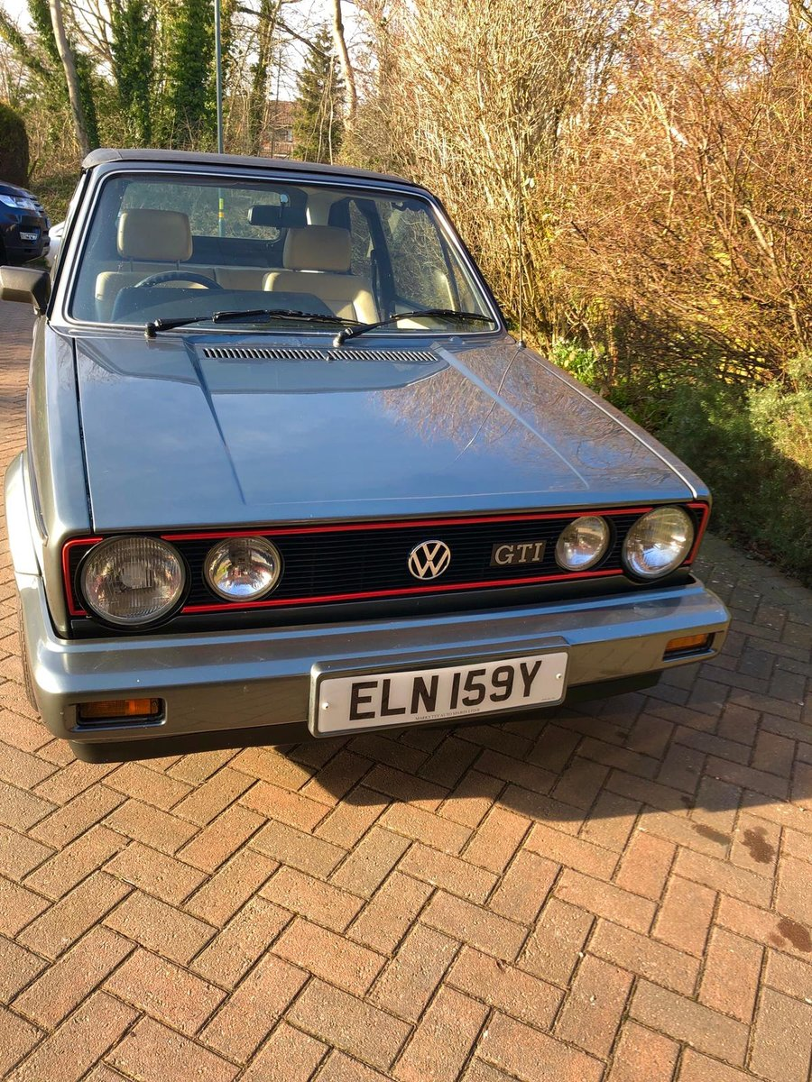 1983 Reluctant sale of classic Golf gti For Sale (picture 4 of 6)