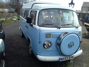 2003 VW Danbury Diamond Camper Van