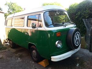 1974 Volkswagen T2 Bay Window camper van  For Sale